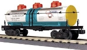 MTH30-73491 Columbia Oil 3 Dome Tank Car