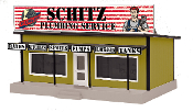 MTH30-90538 Schitz Plumbing Service Road Side Stand