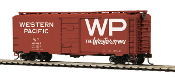 MTH85-74133 Western Pacific 40' PS-1 Box Car