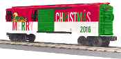 MTH30-74843 2016 Christmas Box Car