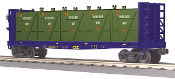 MTH30-76602 CSX Flat Car with Bulkheads and LCL Containers