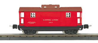 LNL11-70159 Red & Brown Caboose