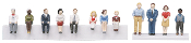 MTH30-11029 12 Piece Figure Set