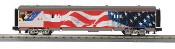 MTH30-68039 Union Pacific 1943 60' Streamlined Baggage Car Flag