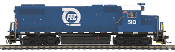 MTH85-2061-1 Florida East Coast GP38-2 with Protosound 3.0
