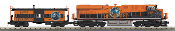 MTH30-20637-1 Halloween ES44AC Diesel with Caboose