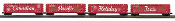 MTH30-70106 Canadian Pacific 4 Car 50' Double Door Box Car LED's