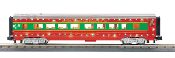 MTH30-68134 Christmas 60' Streamlined Coach Car with LED's
