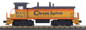 MTH30-20562-1 Chessie NW-2 Switcher with Proto 3.0
