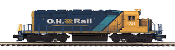 MTH20-21168-1 Ontario Northland SD40-2 with Proto 3.0