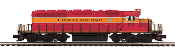MTH20-20994-1 Florida East Coast SD40-2 Diesel with Proto 3.0