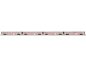 MTH20-64130 Amtrak 4 Car Amfleet Set Plated