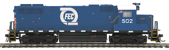 MTH85-2063-1 Florida East Coast GP38-2 Diesel with Proto 3.0