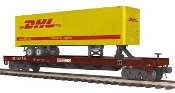 MTH20-95275 Norforlk Southern Flat with 40' DHL Trailer